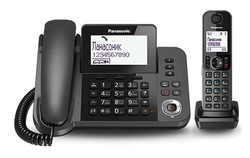 Panasonic KX-TGF320RUM Black
