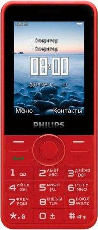 Philips Xenium E168 Red