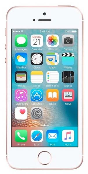 Смартфон Apple iPhone SE 128GB Rose Gold MP892RU/A
